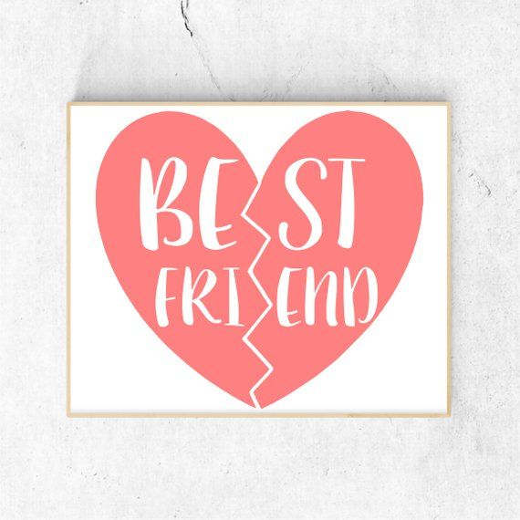 Download Best Friends Svg Files for Cricut, Bff Svg Files ...