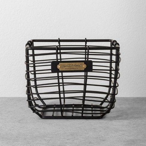 Wire Bin Black – Hearth & Hand™ with Magnolia