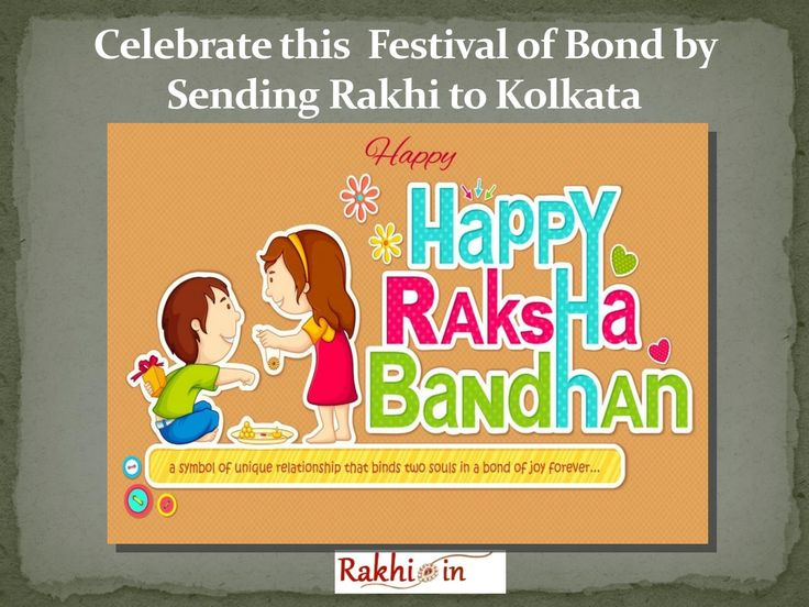 Celebrate this  festival of bond by Sending Rakhi to kolkata  Rakhi.in is a Delhi based online Rakhi e-store. It is offering free shipping of Rakhi online in various parts of the world. In the auspicious occasion of Raksha Bandhan 2016, this portal is showcasing around hundreds of amazing gifting options. To know more just visit http://www.rakhi.in/
