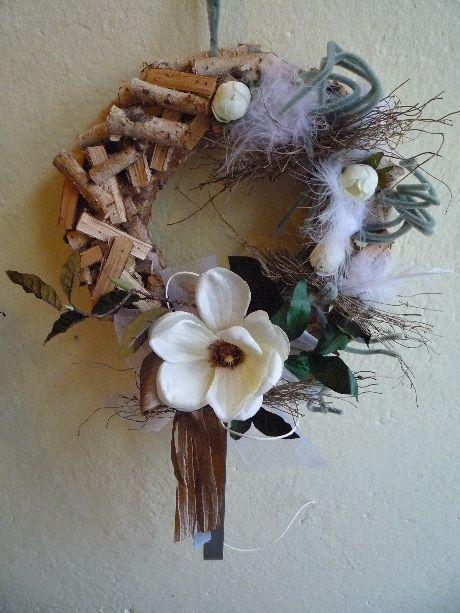 KK Zahrada Jarní dekorace na dveře