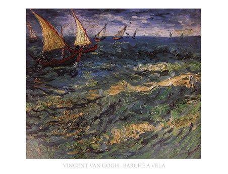 Sailing Vincent Van Gogh #impressionism
