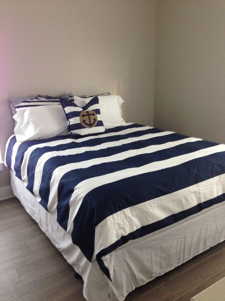 15 best images about nautical bedding on pinterest duvet covers nautical and stripes. Black Bedroom Furniture Sets. Home Design Ideas