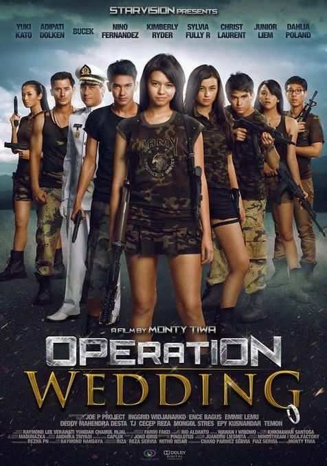 Selamat nonton Film Operation Wedding Online dan jangan lupa buat share ke temen kamu ya  Produser : Chand Parwez Servia, Fiaz Servia Pemain : Yuki Kato, Kimberly Ryder, Bucek Depp, Adipati Dolken, Nino Fernandez, Sylvia Fully R, Christ Laurent, Junior Liem, Dahlia Poland, Joe P. Project, Inggrid Widjanarko, Ence Bagus, Emmie Lemu, Desta, Cecep Reza, Epy Kusnandar, Temon, Mongol Stres - See more at: http://zonafilmonline.blogspot.com/2013/12/film-operation-wedding.html#sthash.XZEwDtr6.dpuf