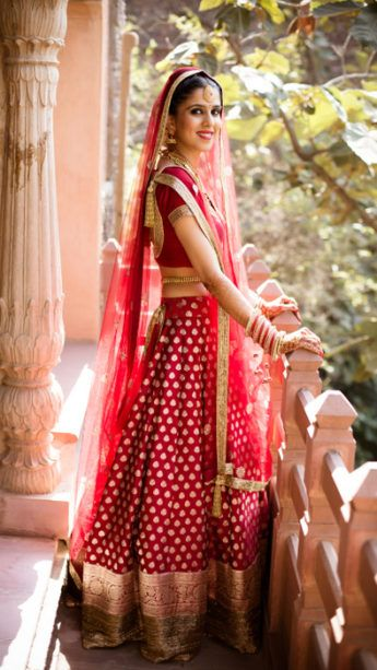 Pretty Neemrana Wedding With A Stunning Rustic Mandap !   WedMeGood - Best Indian Wedding Blog for Planning & Ideas.