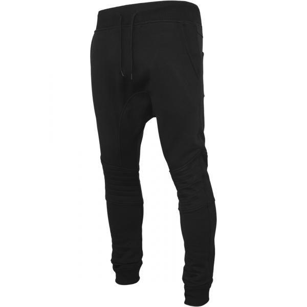 Rapcity.hu - Urban Classics Deep Crotch Biker Sweatpants Black