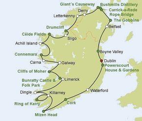 Rundreise Autotour Geheimnisvolle Küste ab/bis Dublin - B&B - Dublin - buchen bei DERTOUR