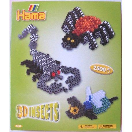 Witajcie w poniedziałek:)   Pająki, owady i skorpiony ... uuu  Aż 2500 Koralików Hama Midi 3239 Owady 3D dla dzieci od lat 5 w zestawie do tworzenia doskonałych i pięknych projektów 3D.   Owady hama to wiele godzin kreatywnej zabawy:)  http://www.niczchin.pl/koraliki-hama-midi/3457-hama-midi-3239-owady-3d.html  #koralikihama #hamamidi #owady3d #zabawki #niczchin #kraków