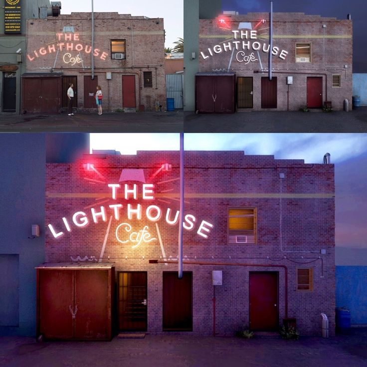 I recreated the Lighthouse Cafe from La