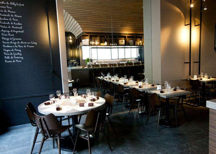 Le Terroir Parisien, le bistrot de Yannick Alléno - 20 rue Saint Victor 75005 Paris - Tel : +33 (0) 1 44 31 54 54