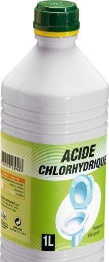Détartrer ses WC avec de l'acide chlorhydrique ! ou : 500g de Bicarbonate de soude 1l de vinaigre blanc.