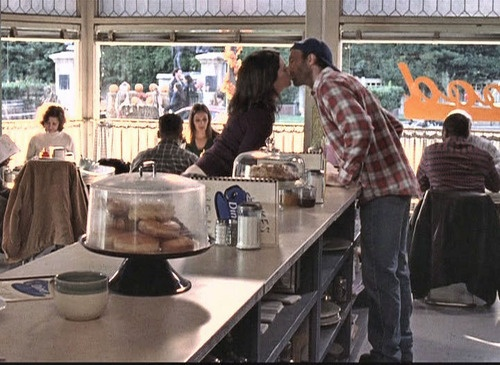 Luke and Lorelai....only the greatest, most adorable ship ever!