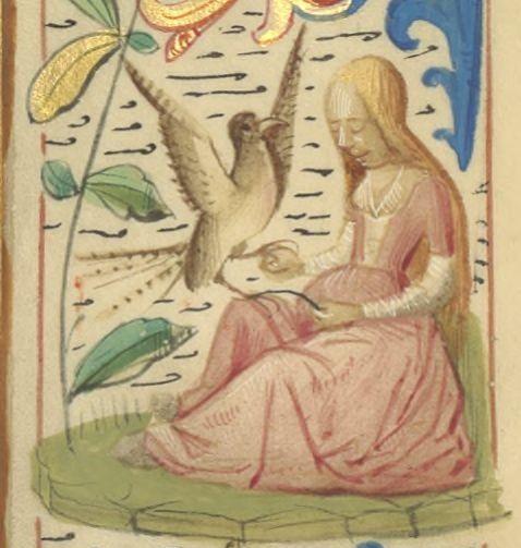 1492 Bibliothèque nationale de France, Latin 16827 - Missel romain, copié en 1492 pour Jean de Foix - 378r source