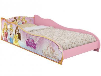 Mini-Cama Infantil - Pura Magia Princesas Disney com as melhores condições você encontra no Magazine Elleneliane. Confira!