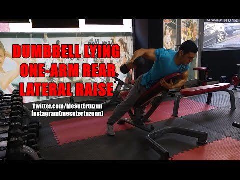 Vücut Geliştirme Hareketleri - DUMBBELL LYING ONE- LATERAL RAISE