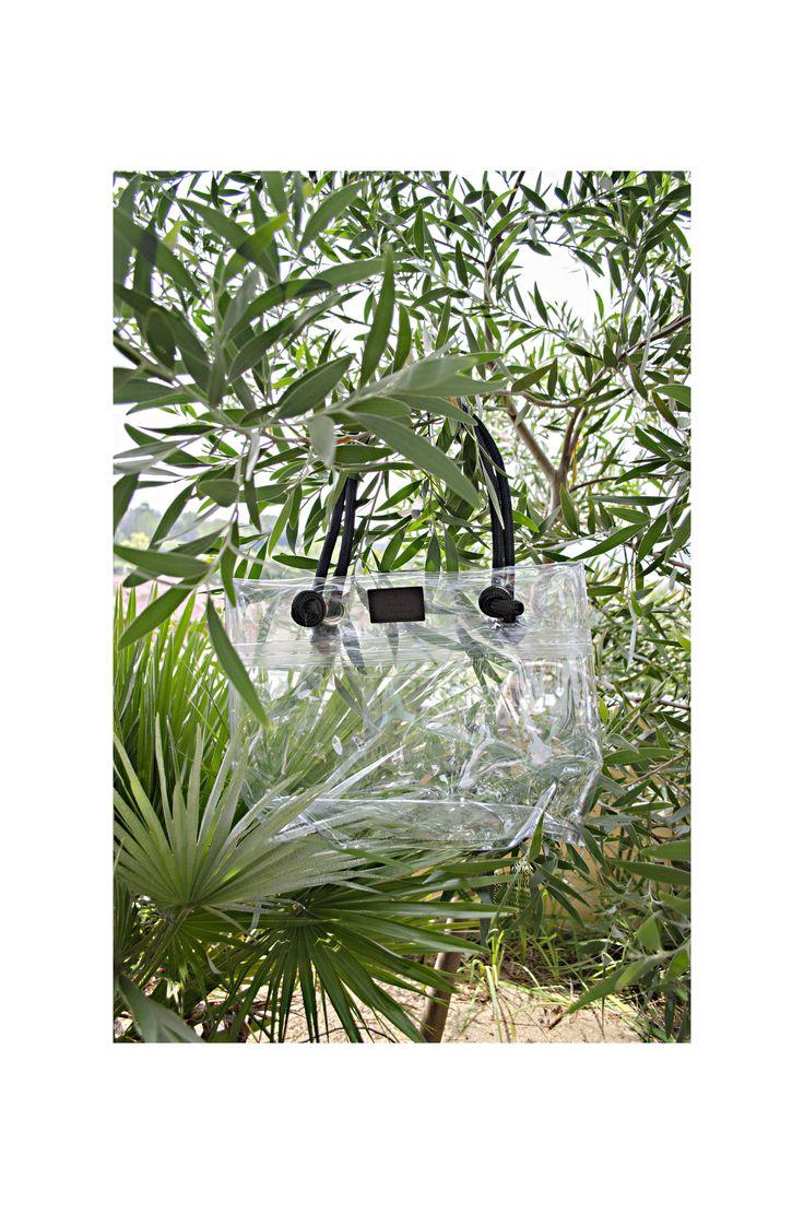 """T - elements design © • borsa 1 trasparente   Collezione  """"mare / spiaggia /relax"""" SS17"""
