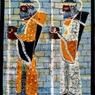 Persian solders- Textile/ Batik [1.00x1.40] By gunseli Toker