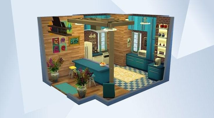 Check out this room in The Sims 4 Gallery! - follow me for more:))