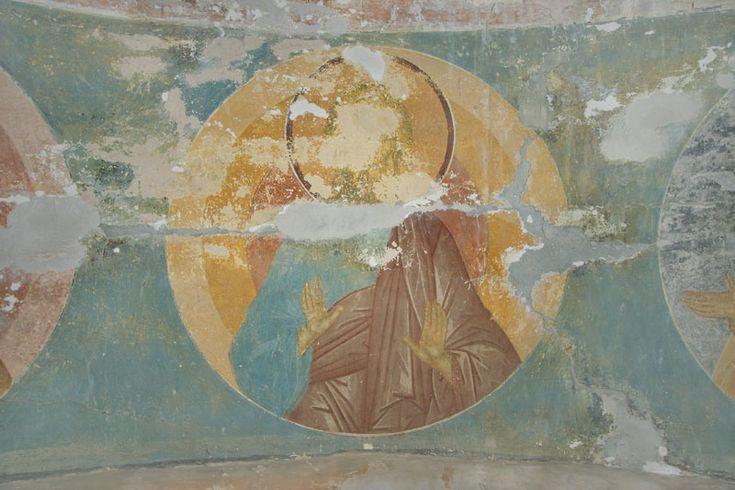 Музей фресок Дионисия - Купол, барабан и паруса - Праотец Адам