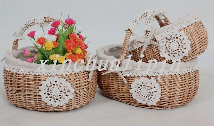 Корзины для покупок Zakka Liu Bianteng handbasket xinchunlipin 19160503597 – купить недорого из Китая с Таобао (Taobao). Заказать дешевле на Виватао
