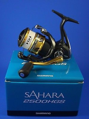 Shimano Sahara 2500HGS FI // SH2500HGSFI // Front Drag Fishing Reel