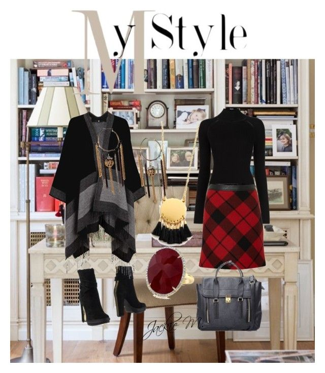 Parisienne Chic by jackie-mallet on Polyvore featuring polyvore fashion style Misha Nonoo Oui Rachel Zoe 3.1 Phillip Lim Anne Sisteron Madewell clothing