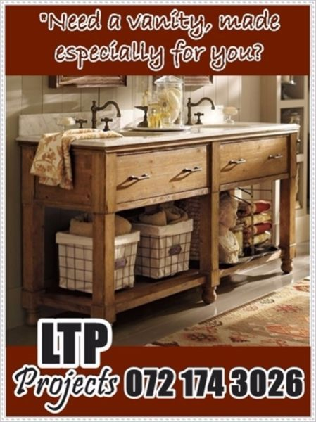 LTP Projects - Carpentry Specializes in Custom Made Units for Shops and Houses, Wardrobes, Storage, Closets, Walk-in Cupboards, Cabinets, Wall Units, Kitchens Design and Installations, Vanities, Balustrades and Skirting's.