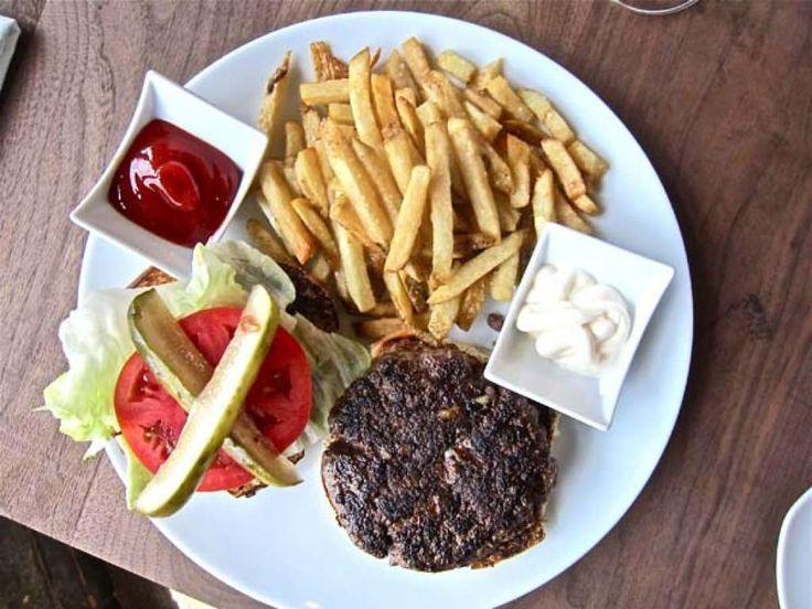 Underbelly / Hay Merchant  Specialty burger ex.: Cease and desist…