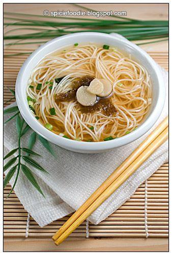 Somen Nyumen Miso Soup Ready In 10 Minutes