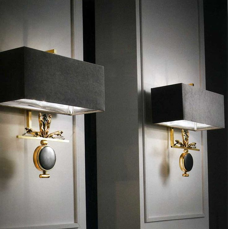 BRONZE AND MAJOLICA WALL LIGHT ART 547 - TAYLOR LLORENTE FURNITURE (=)