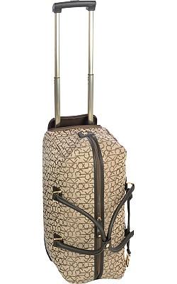 "Calvin Klein Nolita 19"" Wheeled City Bag, $129.99: Leopard Print"