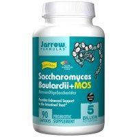 Jarrow Formulas, Saccharomyces Boulardii + MOS, 90 Veggie Caps