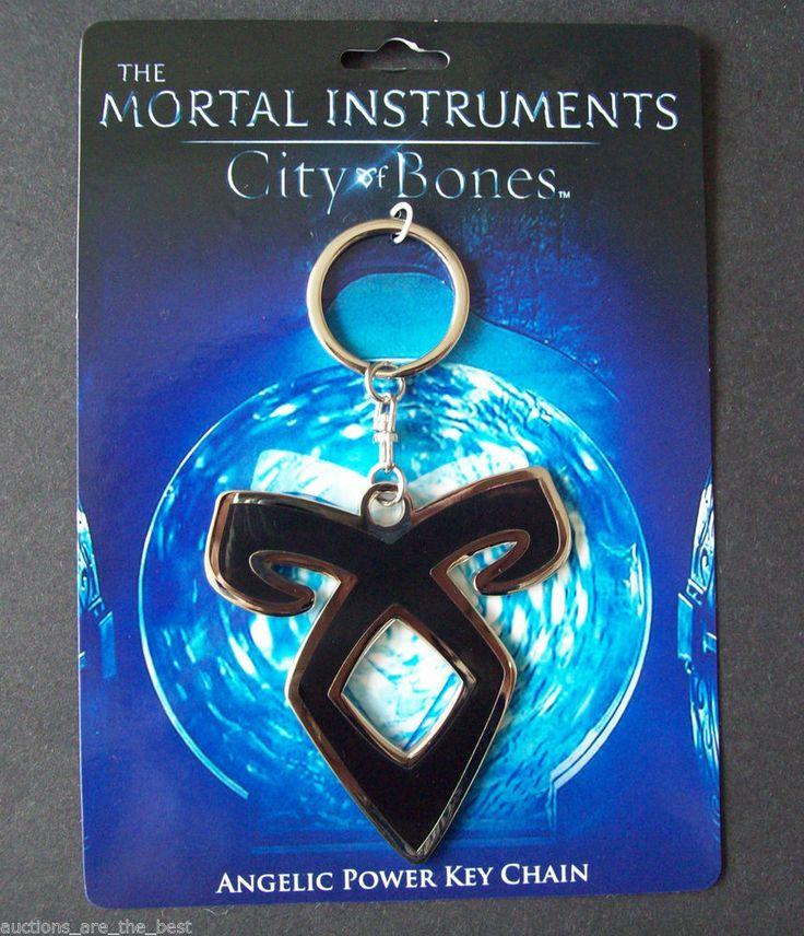 The Mortal Instruments City of Bones Angelic Power Key Chain Rune FREE SHIPPING