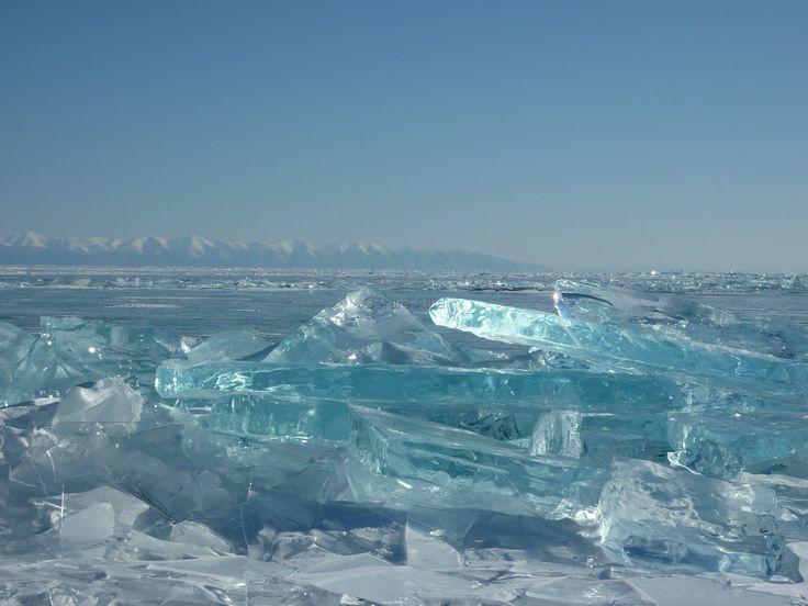 Le lac Baikal en hiver , mon inspiration