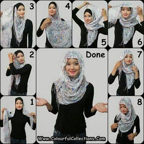How to Wear a Hijab in Style [12 Tricks] – goziyan