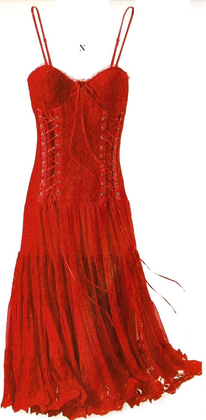 red corset dress | Red Corset Dress Photo by SnowyOwlet | Photobucket