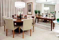 Mesas redondas – veja 30 salas de jantar e cozinhas com essa tendência   dicas!