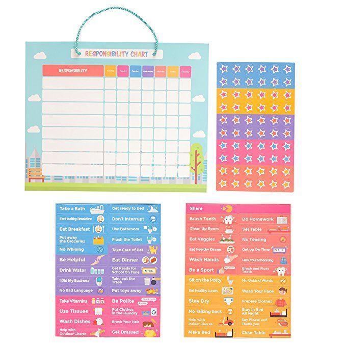 Pneat Good Behavior Chart Chore Chart Magnetic Responsibility