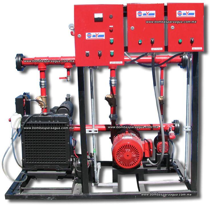 Sistema de Bombeo de Agua Contra Incendios