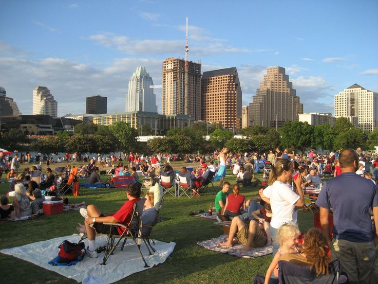 My favorite concert venue in Austin is probably Auditorium Shores. They have huge, free concerts there for SXSW every year, and it's just so awesome to see the city's beautiful skyline behind the concert. Plus, it's a dog park!