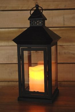 Metal Lantern With Battery Operated Candle So Cheap And