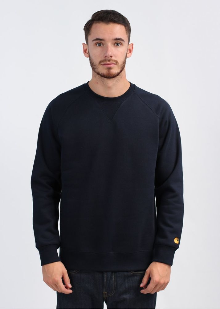 Carhartt Europe Mens Crewneck Navy blue Sweatshirt Size M wip NEW WITH TAGS $90 #Carhartt #SweatshirtCrew