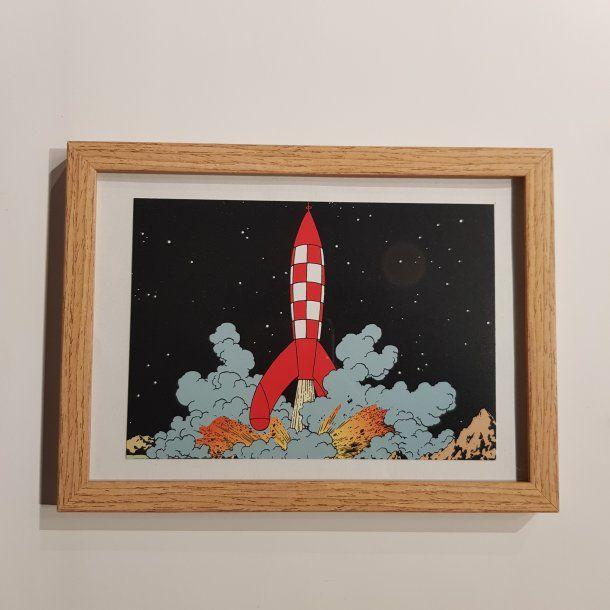 Tintin Billede I Ramme Affyr Ma Neraket I 2020 Tintin Billede Ramme