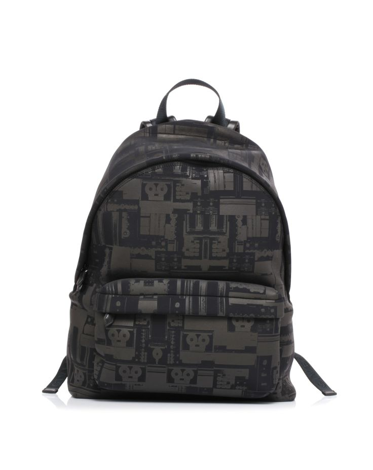 Backpack type neoprene fabric printed by #Givenchy