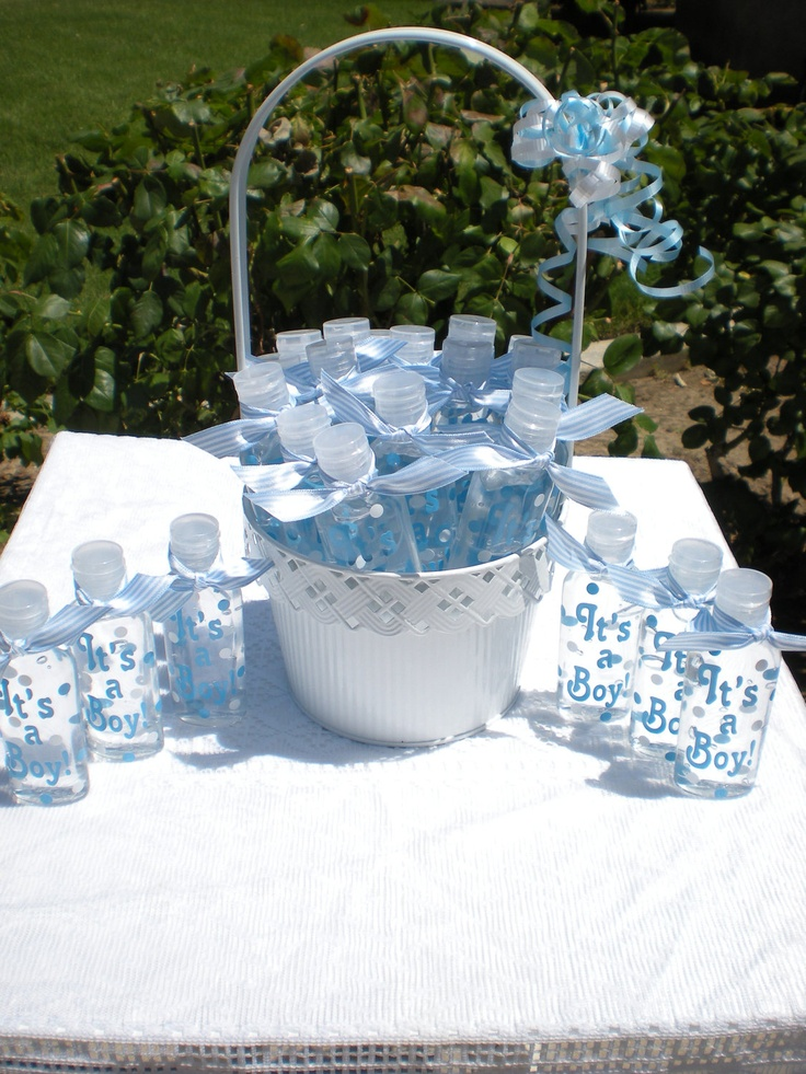 Baby Shower Favors Not Cheesy ~ Baby shower decals for favors hand