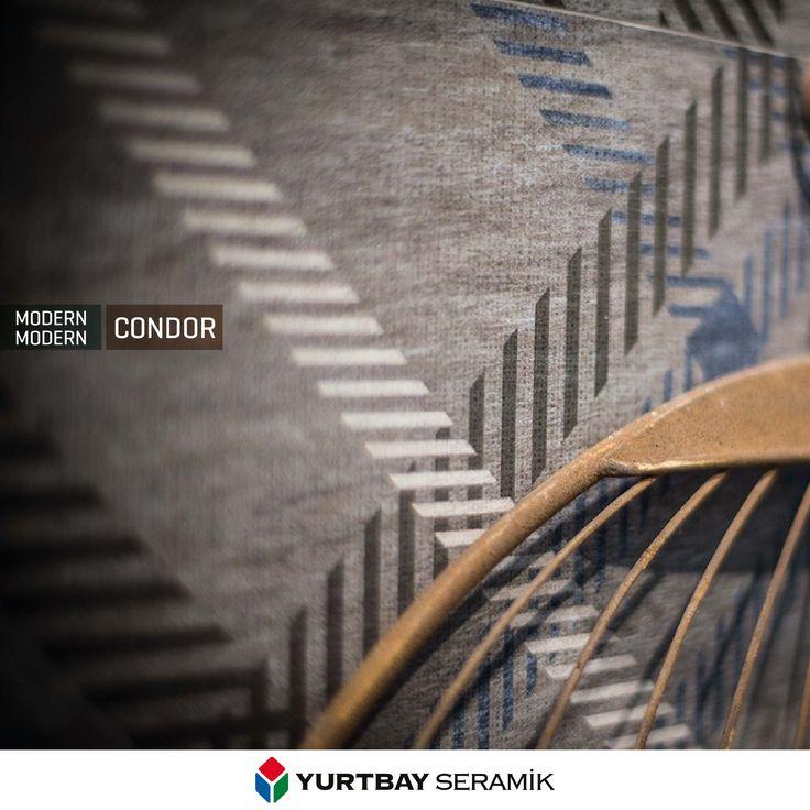 Tekstil dokusunu zarif şekilde yansıtan Condor Serisi.
