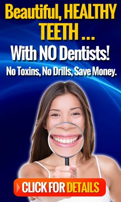Are you afraid of the dentist?Or worse, dental BILLS? At $288 per visit (the average cost across the USA), more and more people are choosing NOT to visit the dentist, to save money.Yet our teeth need regular care.So what's the alternative?Is brushing enough?