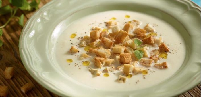 Celery Soup with Cheese on MyRecipeMagic.com