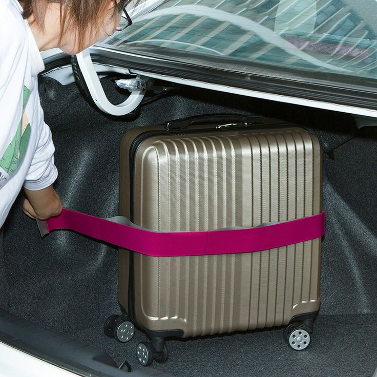 80cm Car Trunk Organizer Stowing Tidying Elastic Car-styling Velcro Strap Fixed Sundry Automobiles Interior Accessories Supplies