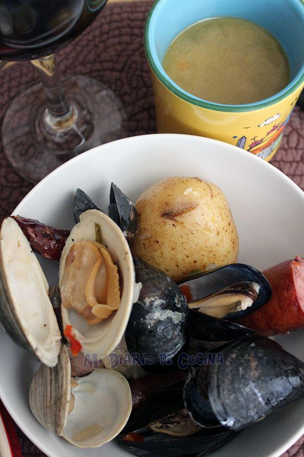 Delicioso pulmay o curanto en olla, una adaptación a la versión original, receta de mi suegro que queda deliciosa y así tendrán otra alternativa.