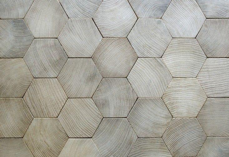 Atelier des Grange hexagonal wood floor | Remodelista